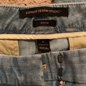 Editor jeans by Express